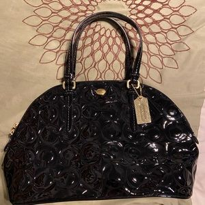 COACH Bowling Bag Style Purse